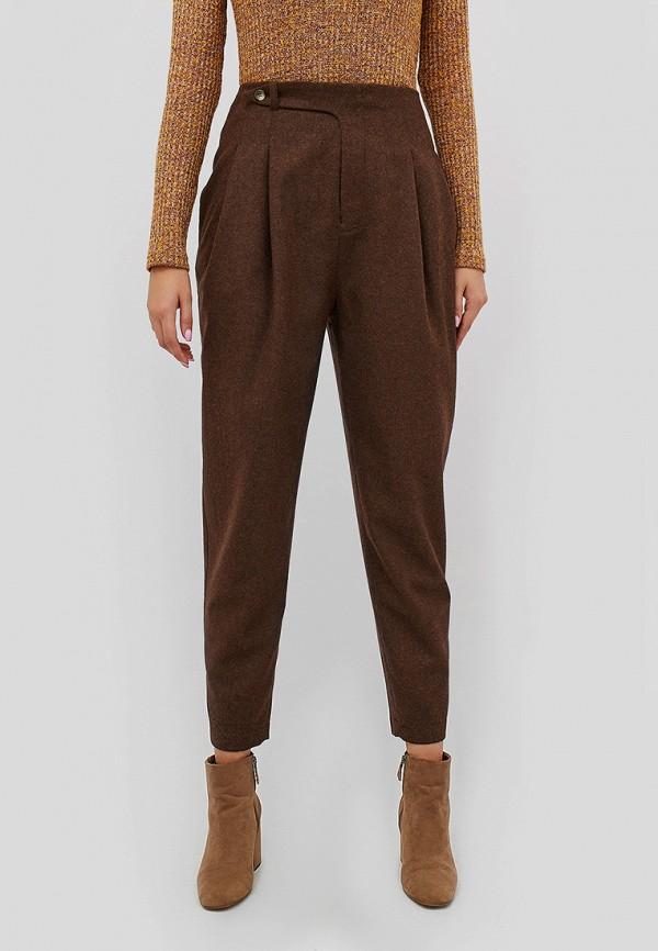 женские брюки cardo, коричневые