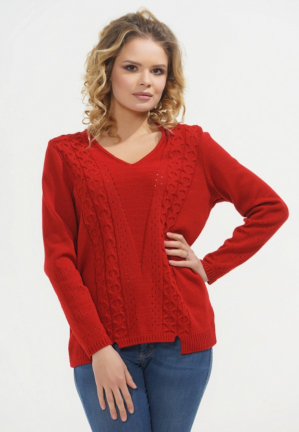 Купить Пуловер Vay, mp002xw1gliy, красный, Осень-зима 2018/2019