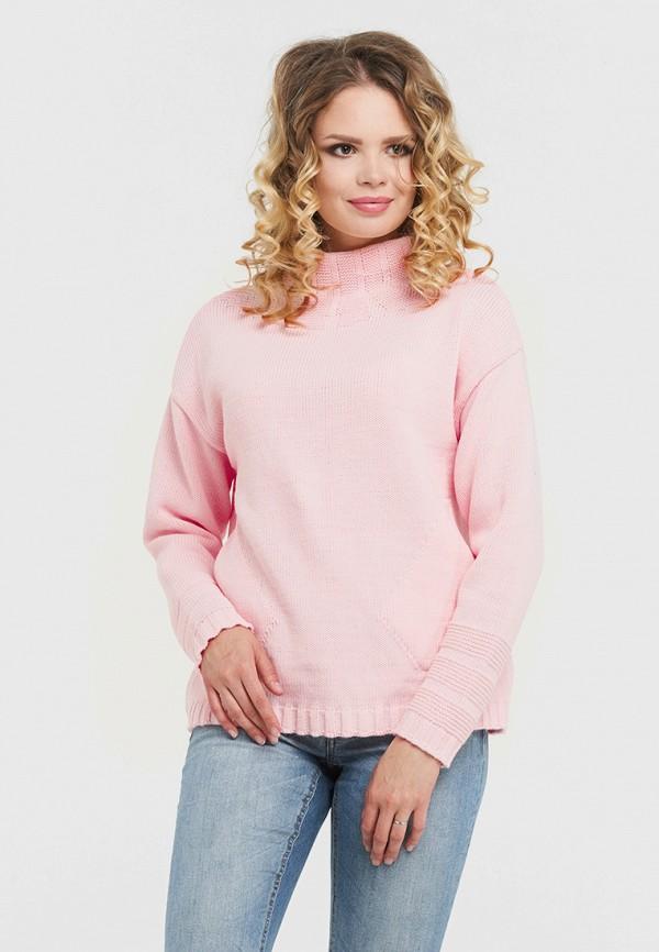 женская водолазка vay, розовая