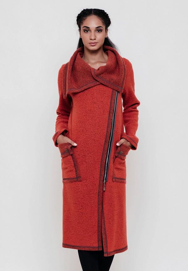 женское пальто victoria bloom, красное