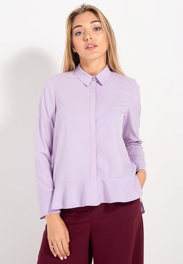женская блузка bessa, фиолетовая