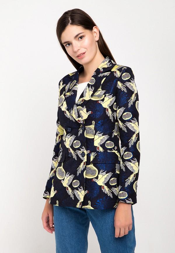 женский пиджак fors, черный