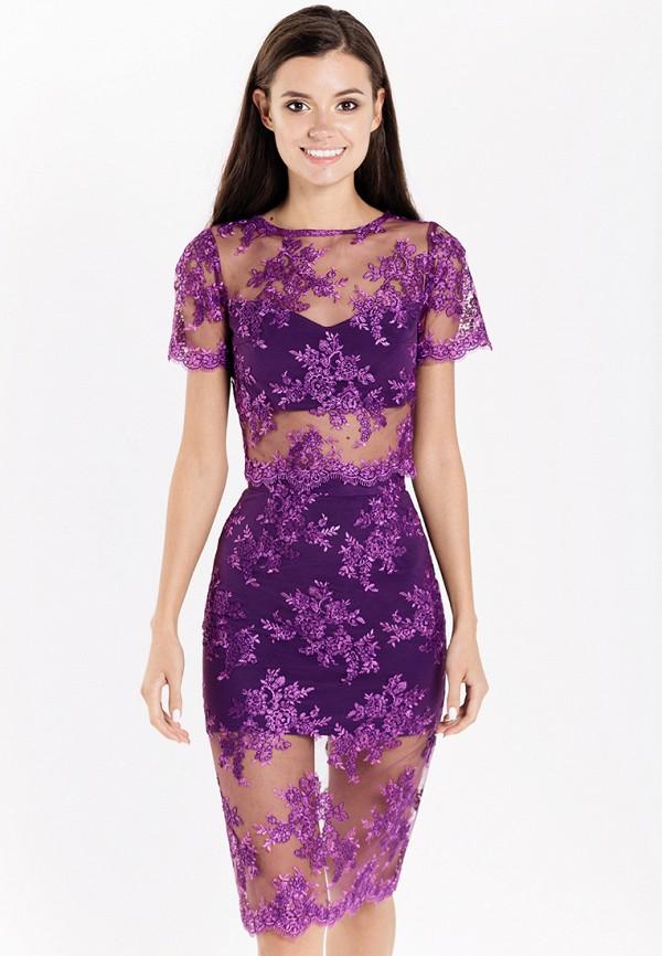 женский костюм fors, фиолетовый