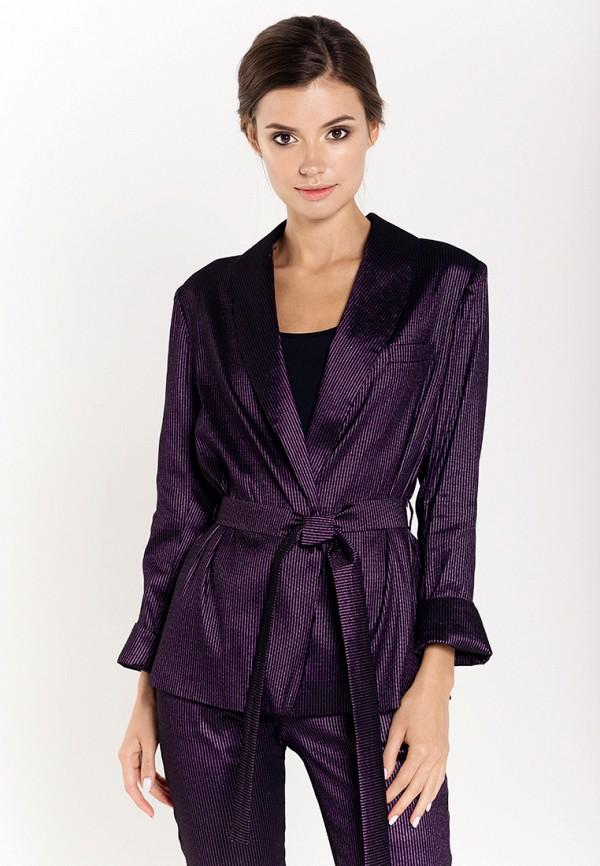 женский пиджак fors, фиолетовый