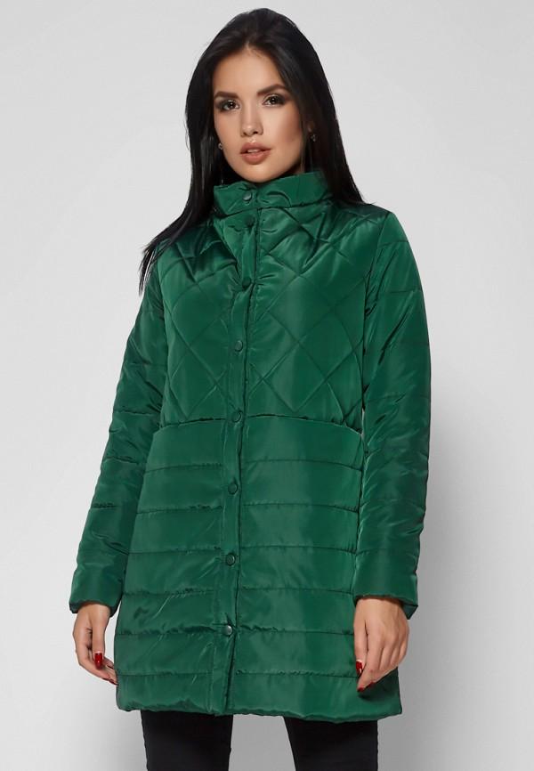 женская куртка karree, зеленая