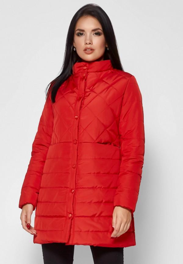 женская куртка karree, красная