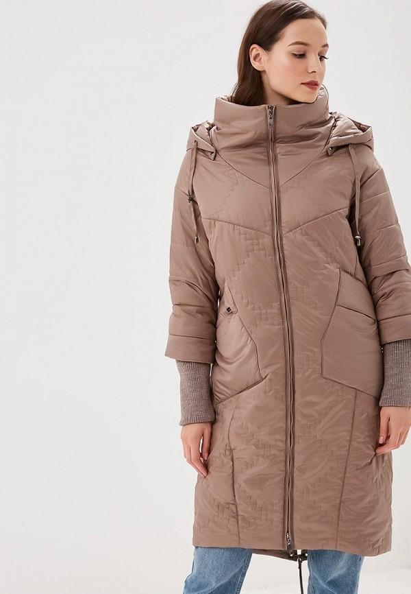 Купить Куртка утепленная DizzyWay, MP002XW1GLSA, бежевый, Осень-зима 2018/2019
