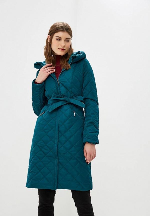 женское пальто dizzyway, зеленое