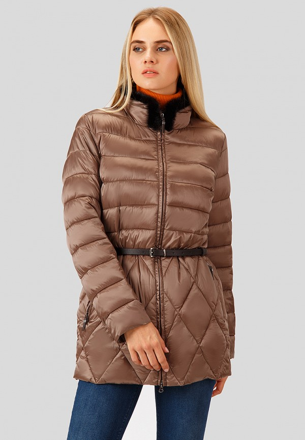 Купить Куртка утепленная Finn Flare, MP002XW1GLVU, коричневый, Осень-зима 2018/2019
