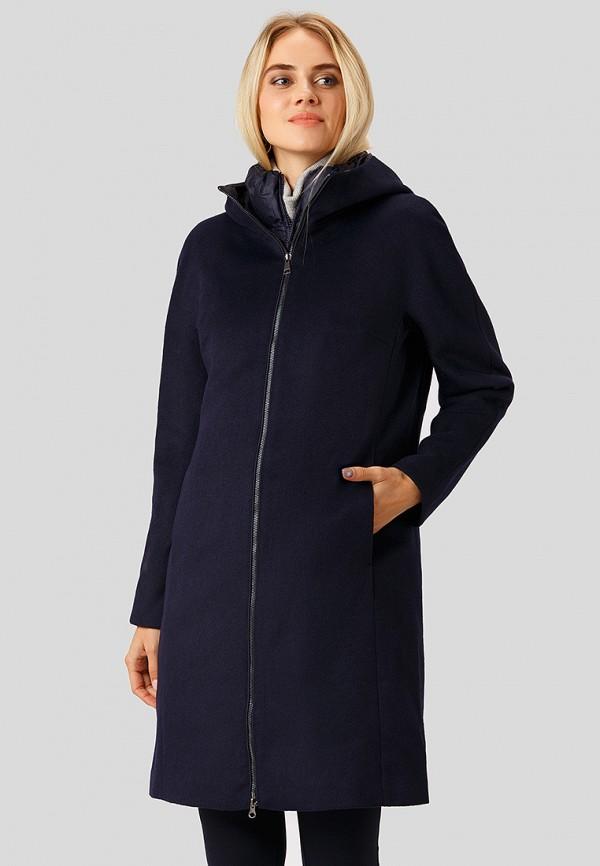 женское пальто finn flare, синее