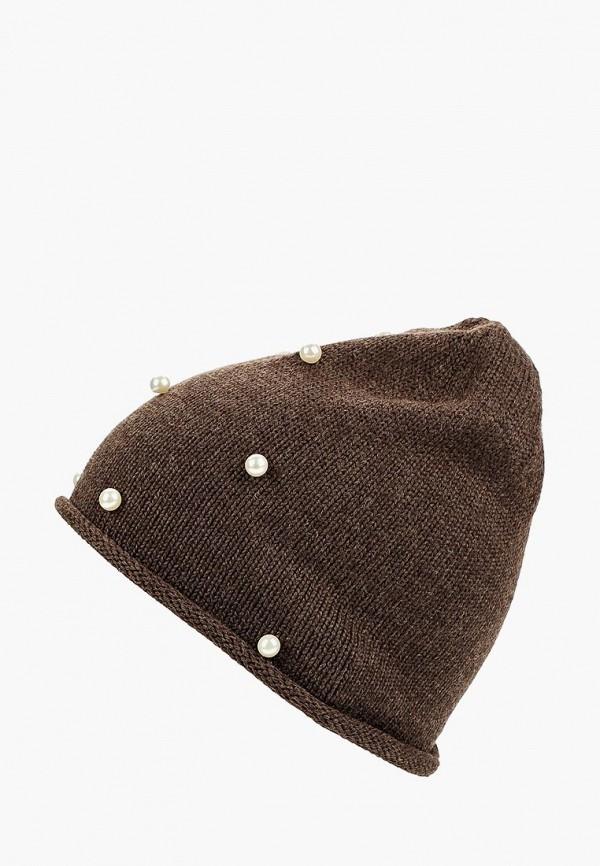 женская шапка freespirit, коричневая