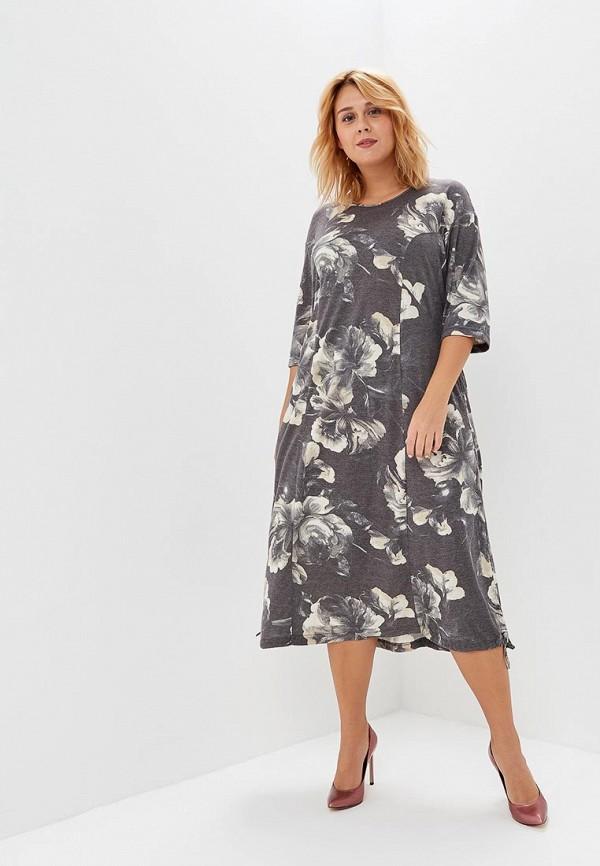 женское платье olsi, серое