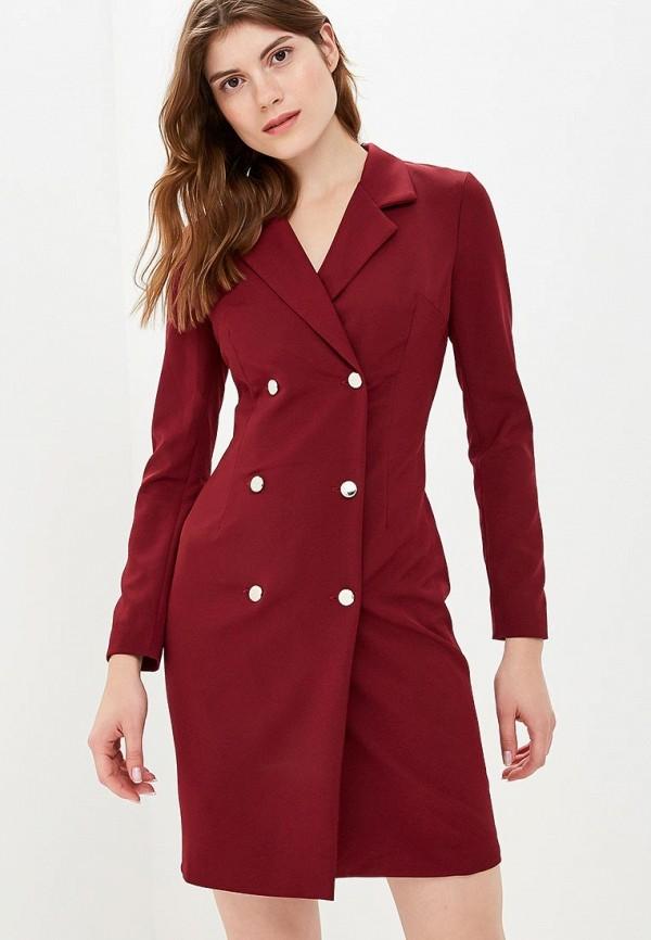 женское платье zerkala, бордовое