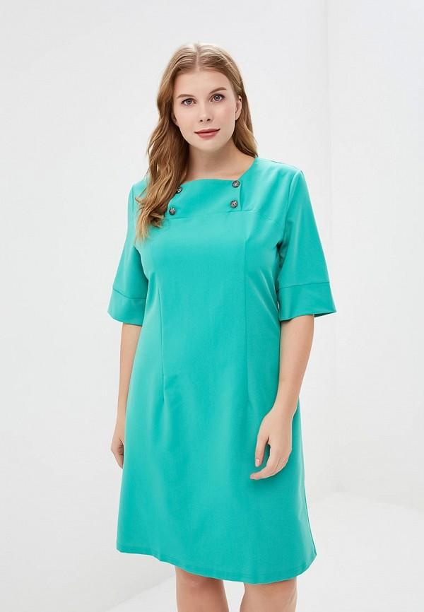 Купить Платье Liora, mp002xw1gm2v, бирюзовый, Осень-зима 2017/2018