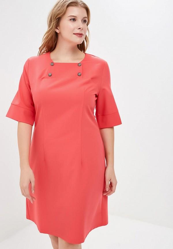 Купить Платье Liora, mp002xw1gm2z, коралловый, Осень-зима 2017/2018