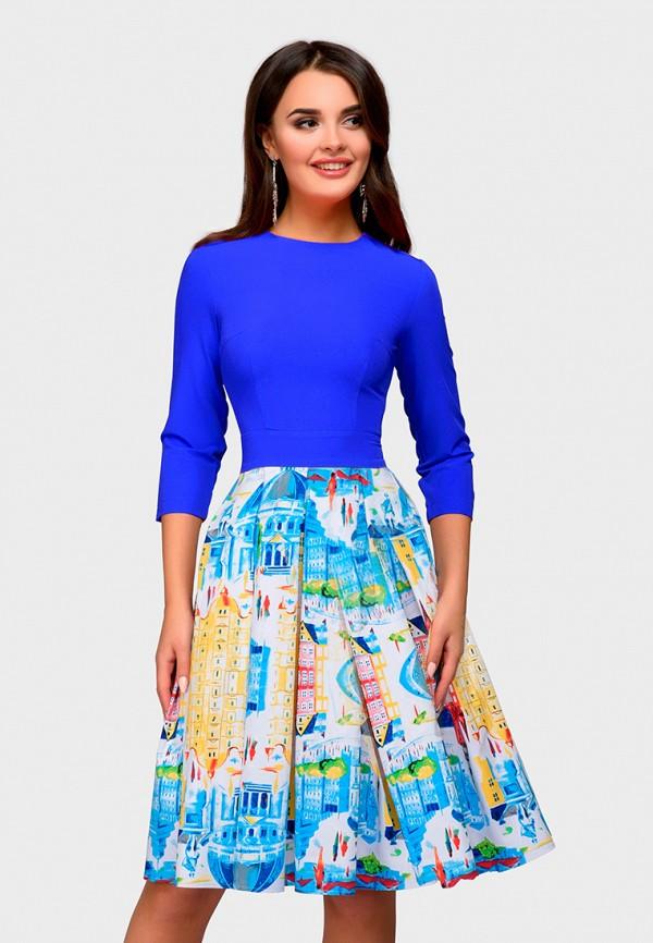 Купить Платье D&M by 1001 dress, mp002xw1gm4t, синий, Осень-зима 2018/2019