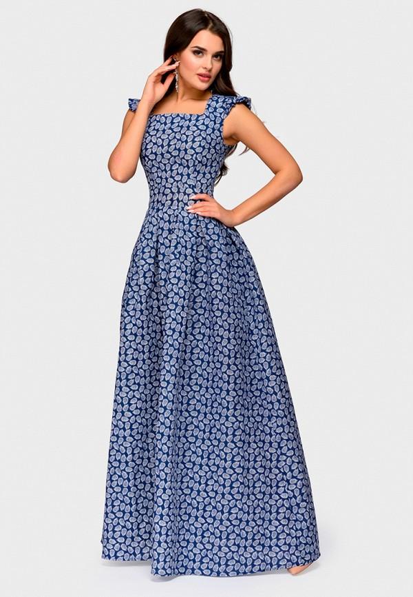 Купить Платье D&M by 1001 dress, mp002xw1gm4v, синий, Осень-зима 2018/2019