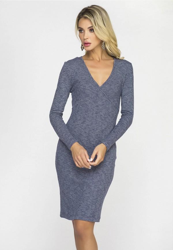 Купить Платье Gloss, MP002XW1GMB4, синий, Осень-зима 2018/2019