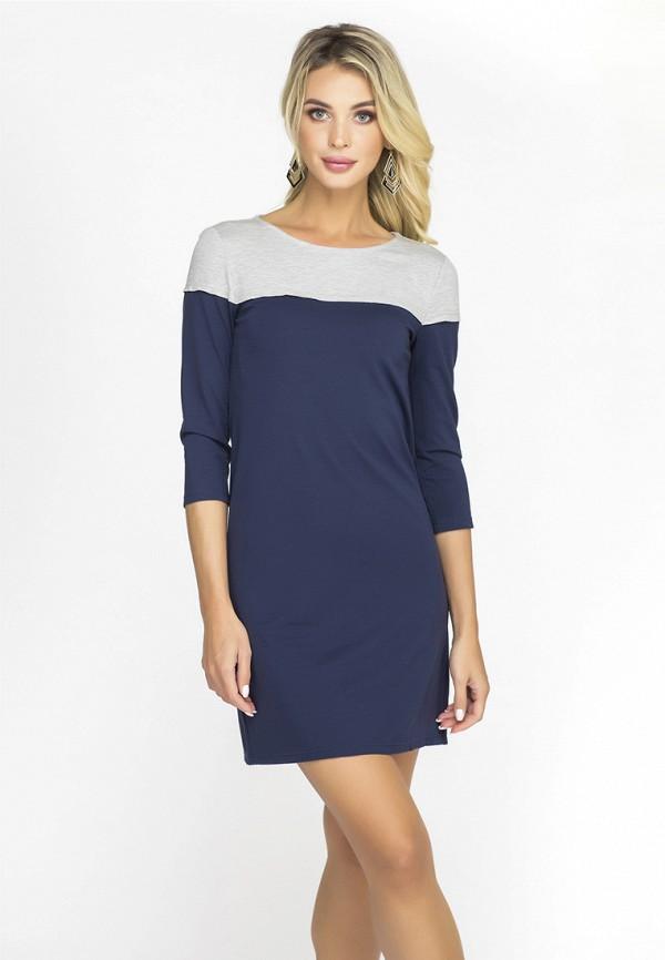 Купить Платье Gloss, MP002XW1GMB7, синий, Осень-зима 2018/2019