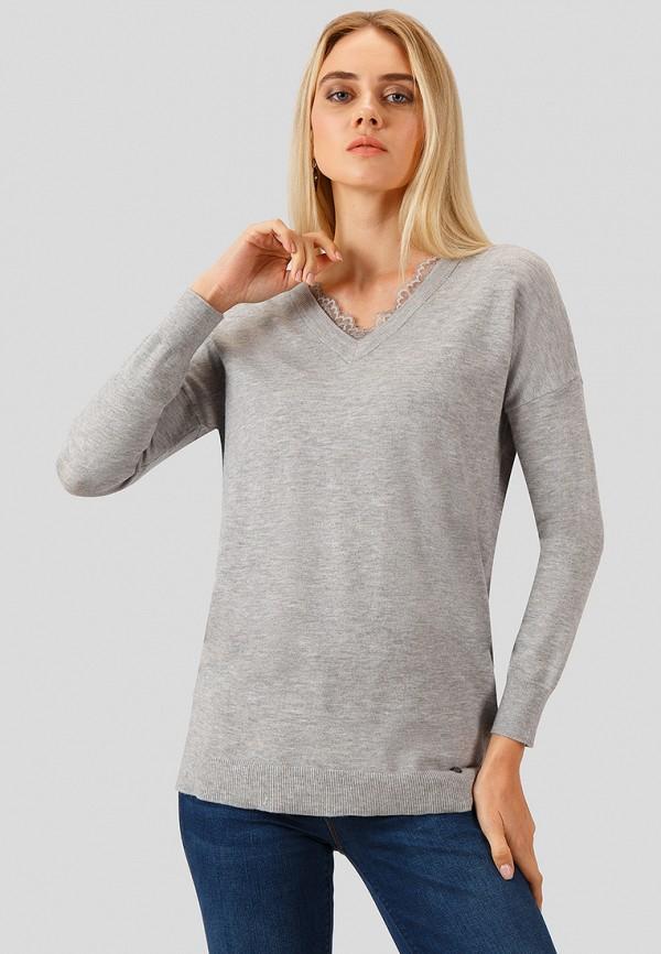 Купить Пуловер Finn Flare, MP002XW1GMET, серый, Осень-зима 2018/2019