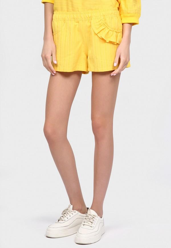 женские повседневные шорты inna lee, желтые