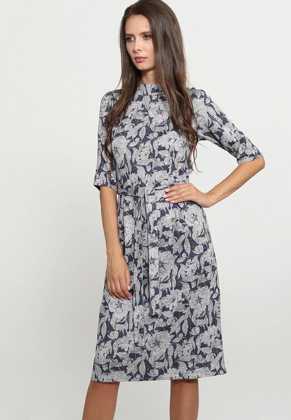 Купить Платье MARI VERA, MP002XW1GMRC, синий, Осень-зима 2018/2019