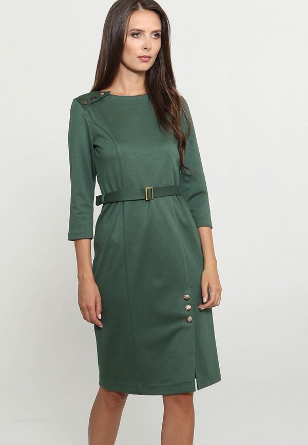 Купить Платье Mari Vera, mp002xw1gmrf, зеленый, Осень-зима 2018/2019