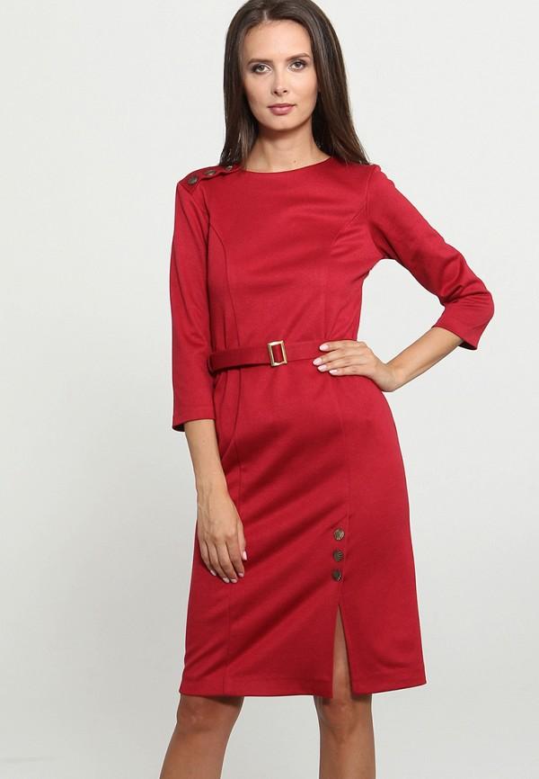 Купить Платье Mari Vera, mp002xw1gmrg, красный, Осень-зима 2018/2019