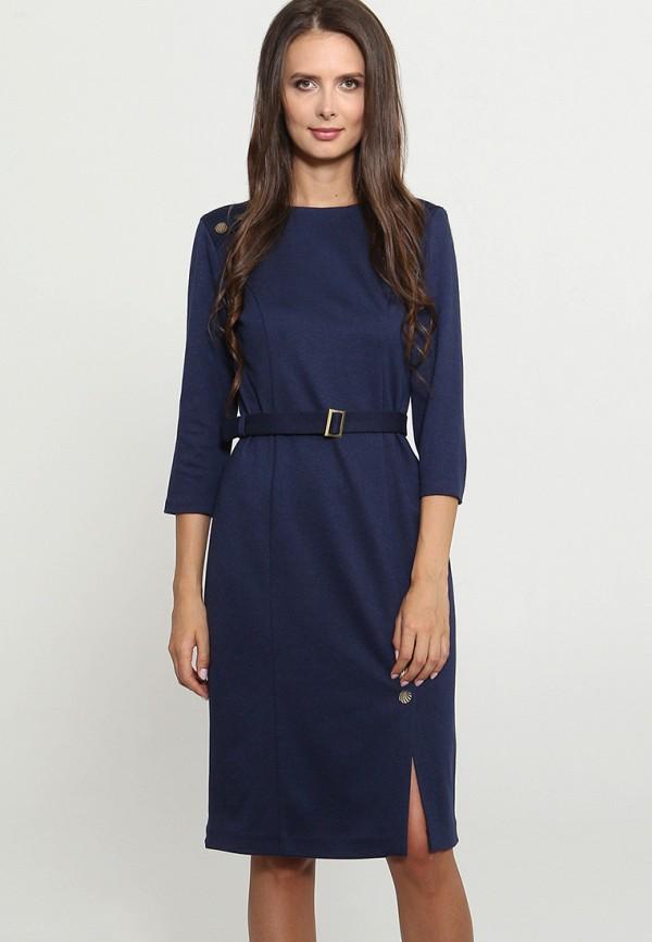 Купить Платье Mari Vera, mp002xw1gmrh, синий, Осень-зима 2018/2019