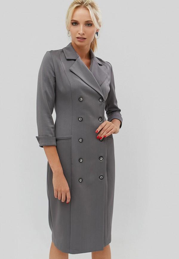 Купить Платье Cardo, mp002xw1gmso, серый, Осень-зима 2018/2019