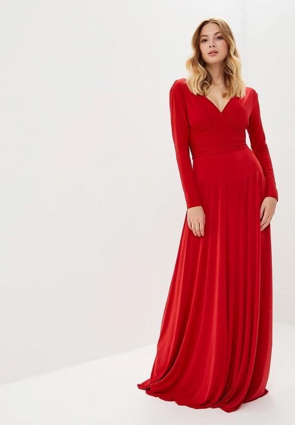 женское вечерние платье zerkala, красное