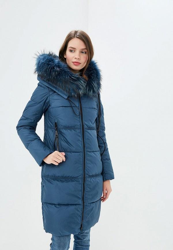 Куртка утепленная La Reine Blanche La Reine Blanche  синий фото