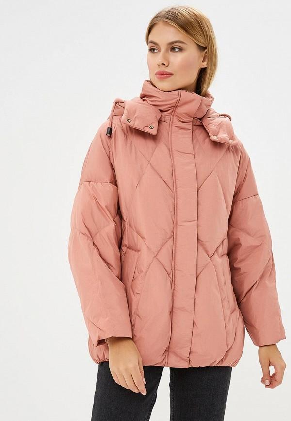 Купить Пуховик La Reine Blanche, MP002XW1GMUT, коралловый, Осень-зима 2018/2019