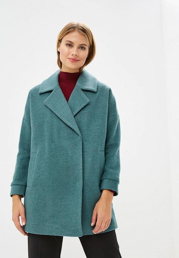 женское пальто la reine blanche, зеленое