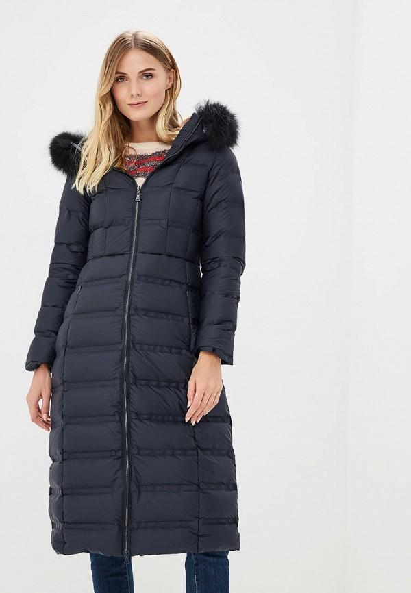 Купить Пуховик La Reine Blanche, LRBZRW9DC94, MP002XW1GMVE, синий, Осень-зима 2018/2019