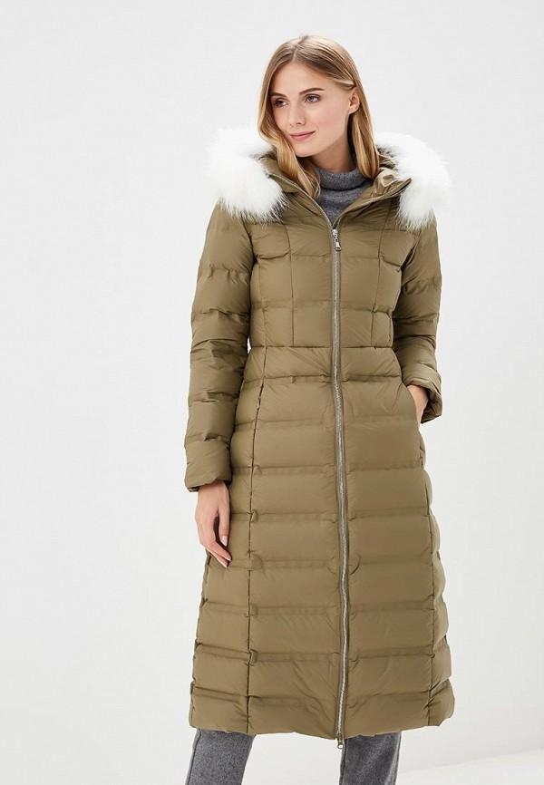 Купить Пуховик La Reine Blanche, LRBZRW9DC94, MP002XW1GMVF, хаки, Осень-зима 2018/2019