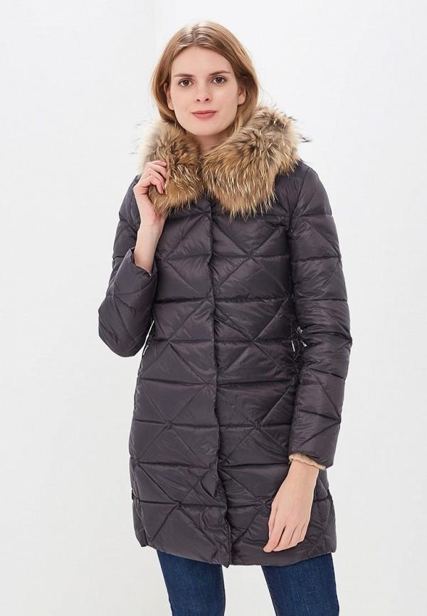Купить Пуховик La Reine Blanche, mp002xw1gmvh, серый, Осень-зима 2018/2019