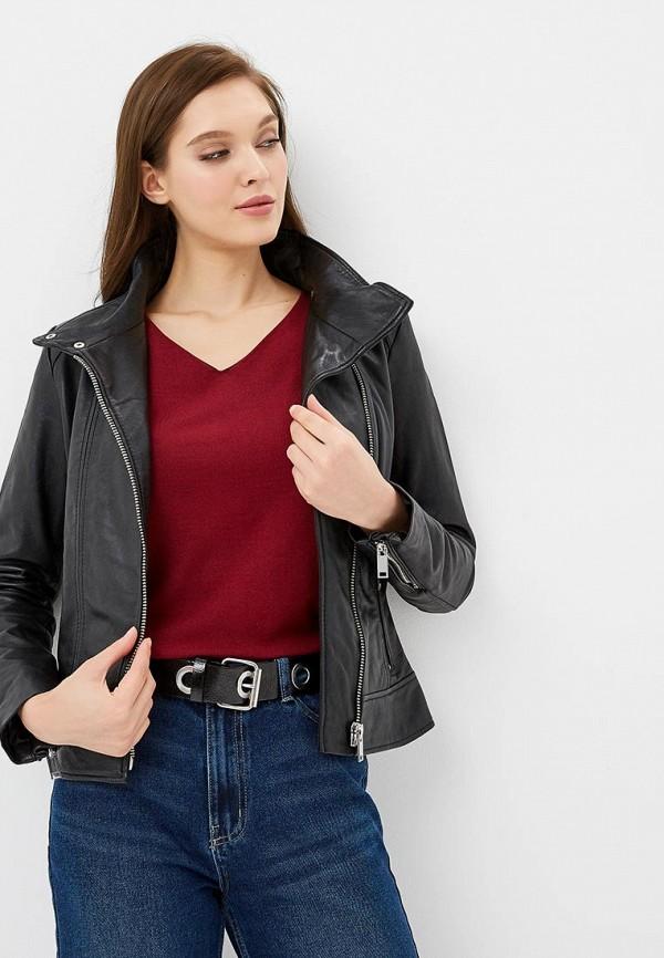 Куртка кожаная La Reine Blanche La Reine Blanche MP002XW1GMVI недорго, оригинальная цена