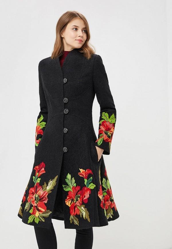 Фото - Женское пальто или плащ Yukostyle черного цвета