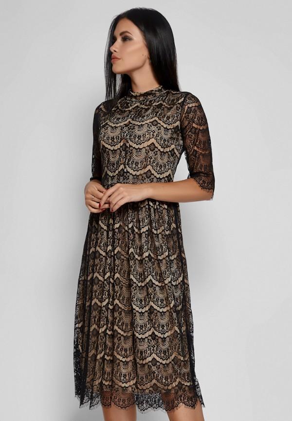 женское вечерние платье karree, черное