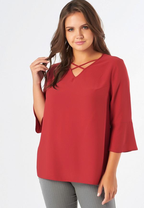женская блузка fly, красная