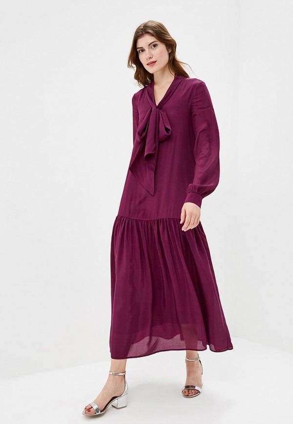 Купить Платье Akhmadullina Dreams, mp002xw1gmzu, фиолетовый, Осень-зима 2017/2018