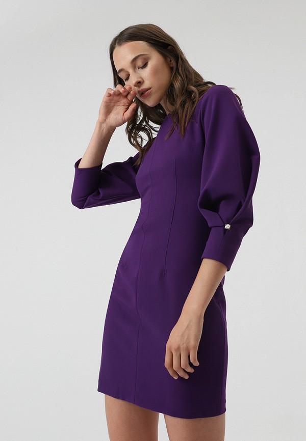 Купить Платье Lime, mp002xw1gn02, фиолетовый, Осень-зима 2018/2019
