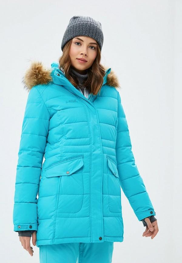 Купить Куртка утепленная High Experience, MP002XW1GN5O, бирюзовый, Осень-зима 2018/2019