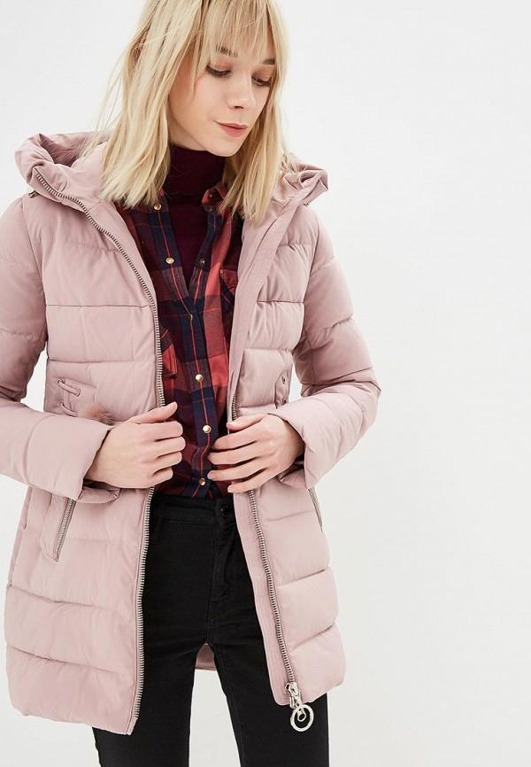 женская куртка winterra, розовая