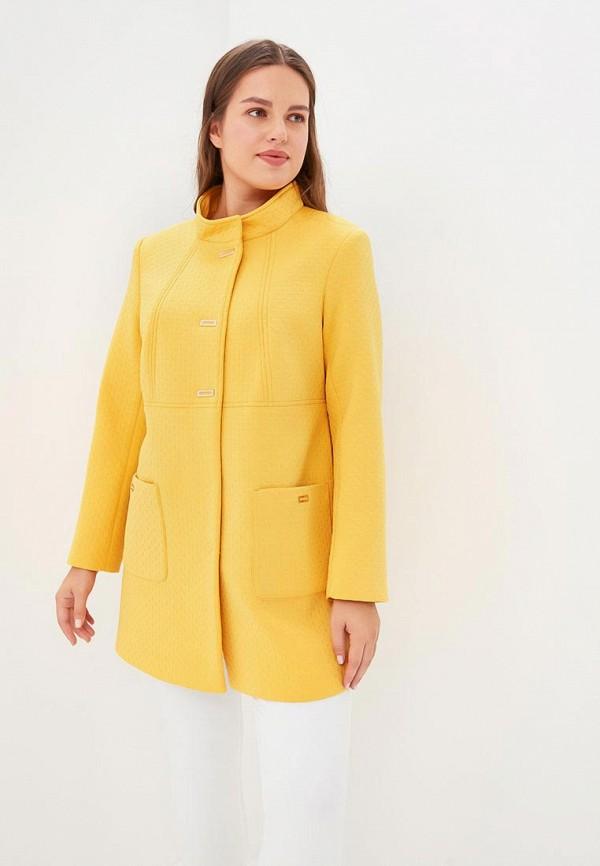 Купить Пальто Cassidy Кэссиди, mp002xw1gnbp, желтый, Осень-зима 2018/2019