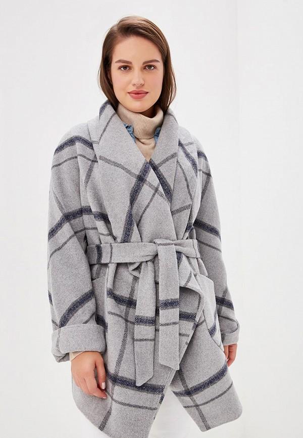 Пальто Cassidy Кэссиди, mp002xw1gnbs, серый, Осень-зима 2018/2019  - купить со скидкой