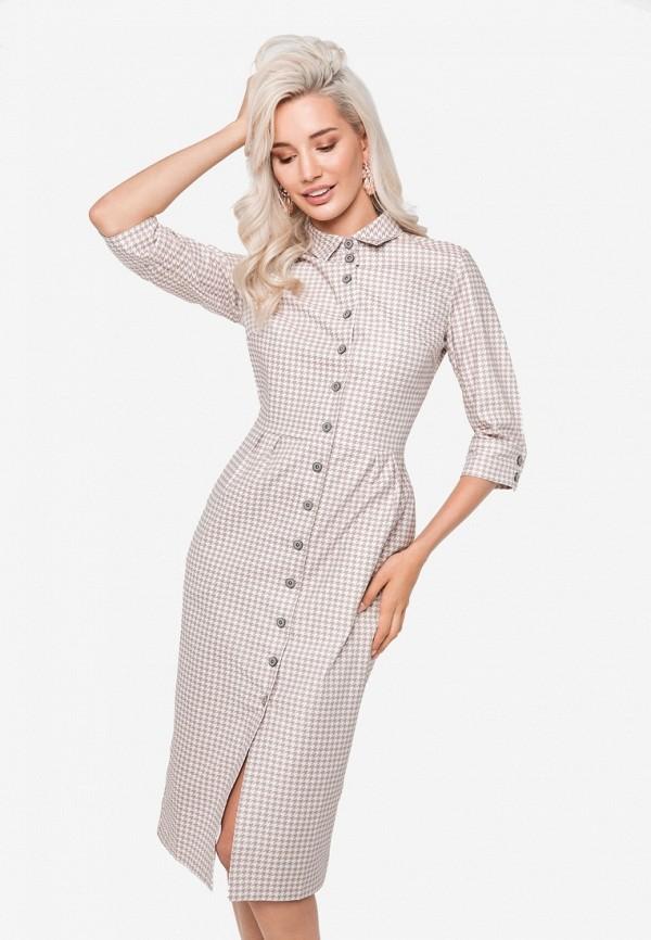 Купить Платье SoloU, MP002XW1GNZY, бежевый, Осень-зима 2018/2019