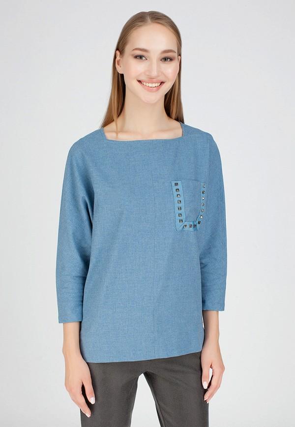 Купить Блуза Serginnetti, mp002xw1go37, голубой, Осень-зима 2018/2019