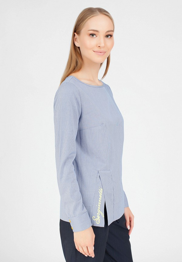 Купить Блуза Serginnetti, mp002xw1go4b, голубой, Осень-зима 2018/2019